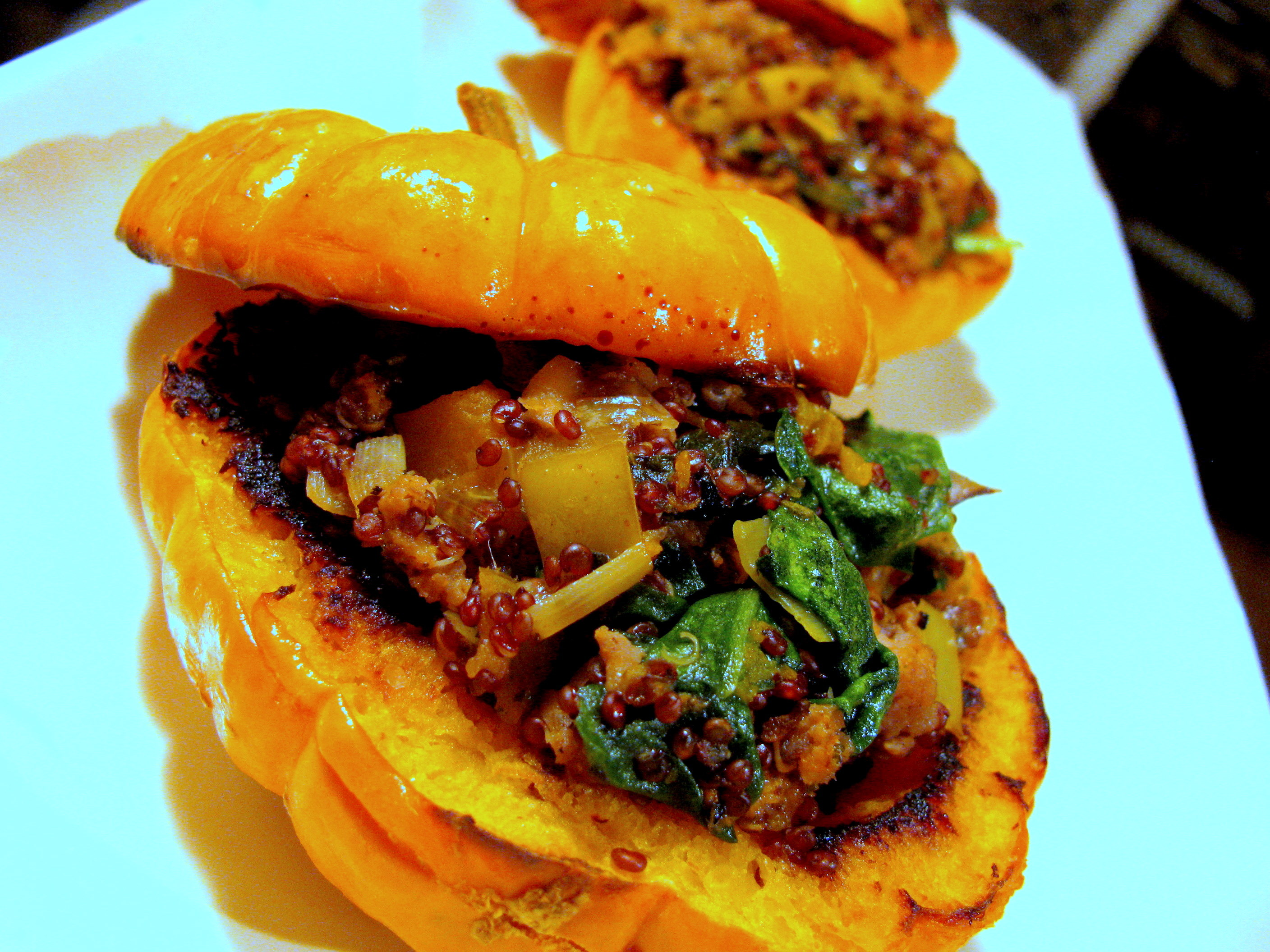 Stuffed Pumpkins | Turning Over a New Leaf